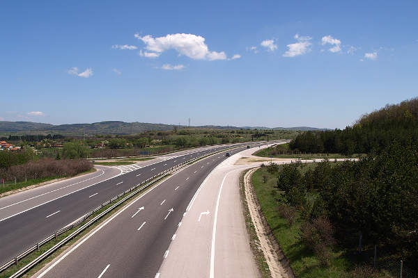 The Trakia Highway project is majorly funded by European Union's (EU) Cohesion Fund. Image courtesy of Anton Lefterov.