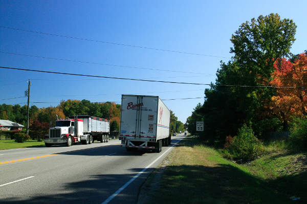 The current Route 460 is lacking the design standards specified according to Virginia Department of Transportation.