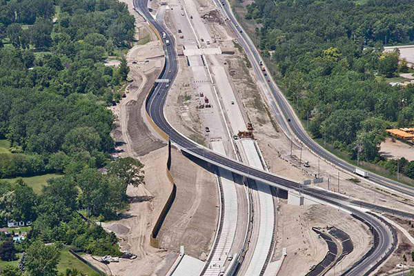 The project is expected to be completed by summer 2015. Image courtesy of Rt. Hon. Herb Gray Parkway project team.