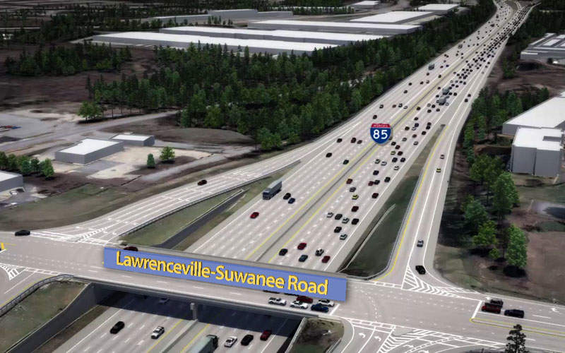 Interstate 85 (I-85) Express Lanes Extension Project