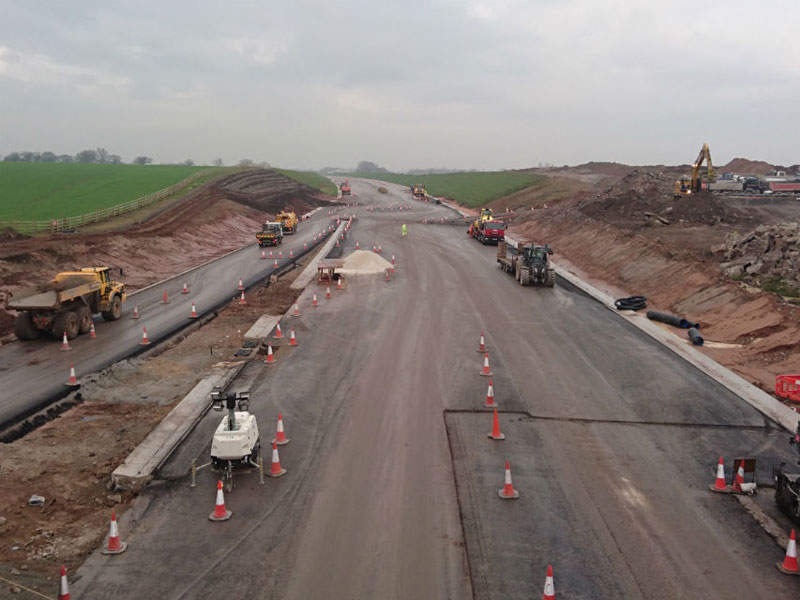 The A556 Knutsford-Bowdon Improvement scheme involved a £192m (approximately $240m) investment.