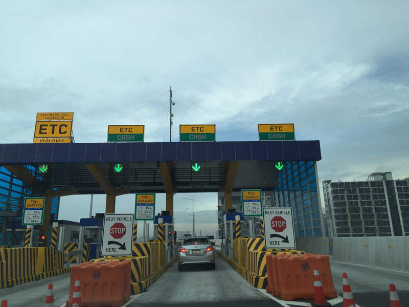The NAIA expressway phase two was built by San Miguel Corp. Credit: RioHondo.