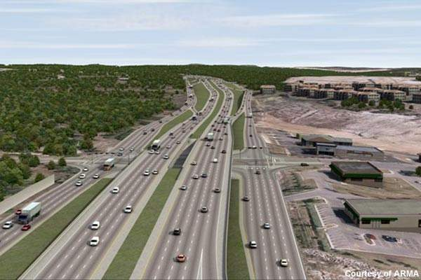 The 281 North Toll project will incorporate tolled express lanes.