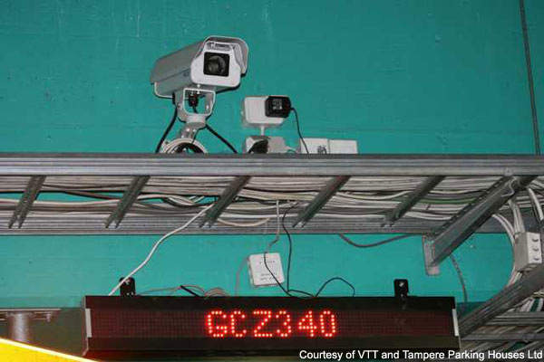 The cameras used in the license plate recognition system were manufactured by Bosch.