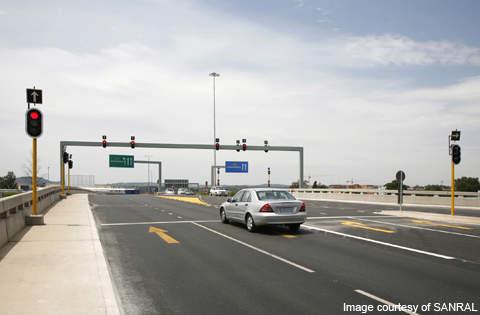 The Garstfontein interchange opening.