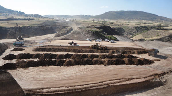 The $612m project was constructed by CCCC. Image courtesy of Ethiopian Roads Authority.