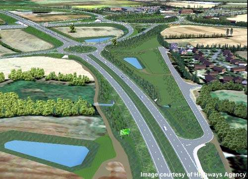 The M40 Junction 15 bypass scheme was designed by Hyder Consulting under an Early Contractor Involvement (ECI) contract.