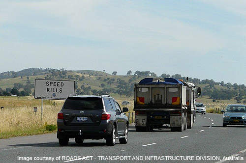 The existing Majura road carries 18,000 vehicles daily, of which 2,800 are commercial or heavy freight vehicles.