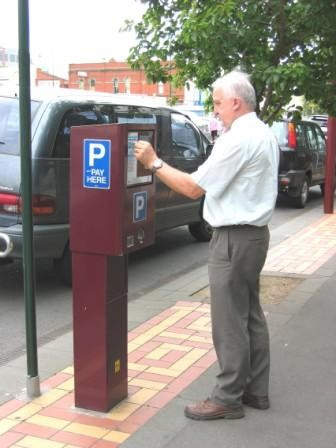 An Ezipark classic, this machine is the previous version of the machines installed in Christchurch but is still found in many cities in Australia and New Zealand.