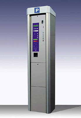The Parkline 3000: one of the possible choices for the pay and display machine.