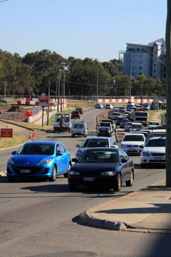 The upgrade project increased the capacity, as well as improved efficiency and safety for motorists. Image courtesy of City East Alliance.