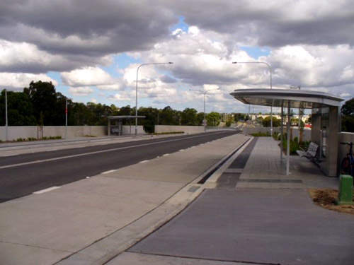 Hassell was responsible for the design of the stations on the T-way.