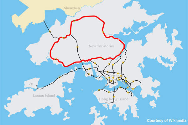 The Tolo highway and Fanling highway are part of a strategic trunk road, Route 9, which connects the New Territories.