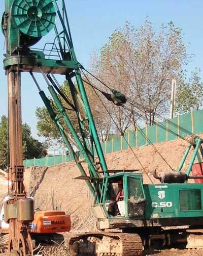 Work has been in progress since September 2001.