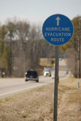 Route 460 provides road connection to port of Hampton Roads and acts as a Hurricane Evacuation Route.