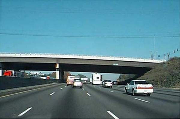 The Northwest Corridor Project includes construction of high-occupancy vehicle (HOV) lanes and integration of rapid transit systems along I-75 and I-575. Credit: Georgia Department of Transportation (GDOT).