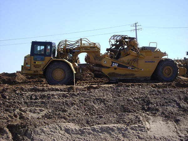 The construction of Brawley Bypass was completed in three phases. Image courtesy of Skanska.