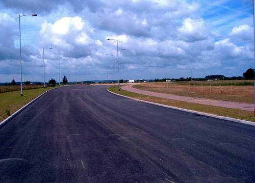 The access road will be used by 21,500 vehicles per day by 2023.