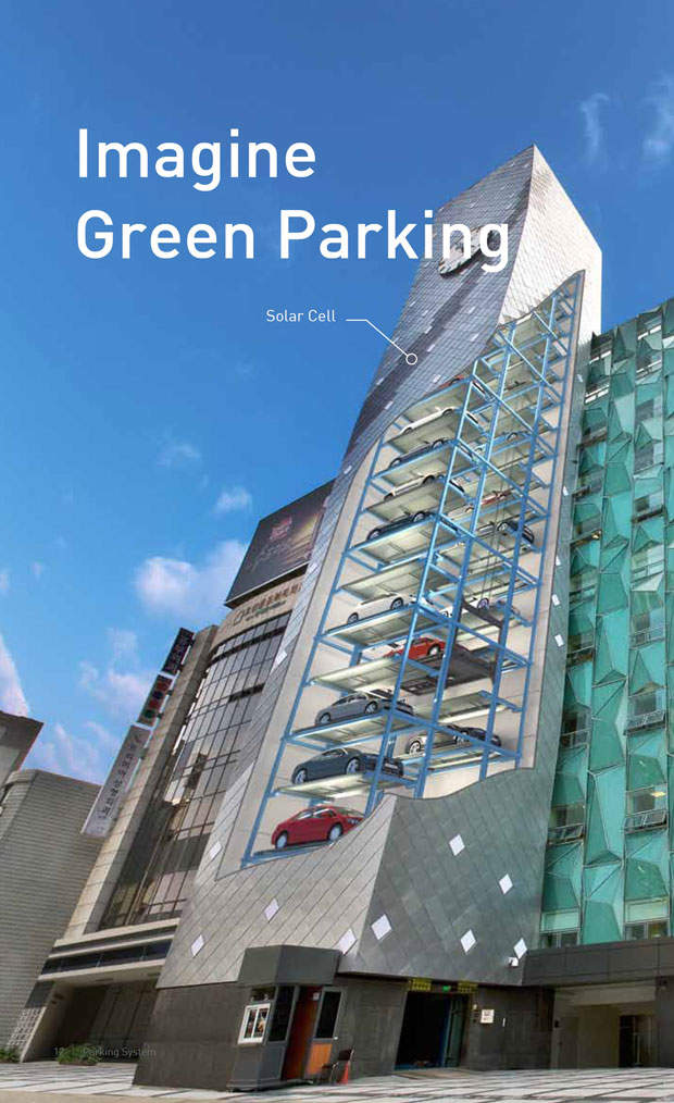 Green Parking Tower System