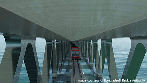 The project will include construction of a 6.5km long and 21.10m wide two-level steel truss bridge.