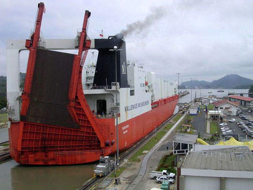 The Panama Canal is a major part of the Panamanian economy, which has become prosperous allowing infrastructure improvements such as the Coastal Beltway.