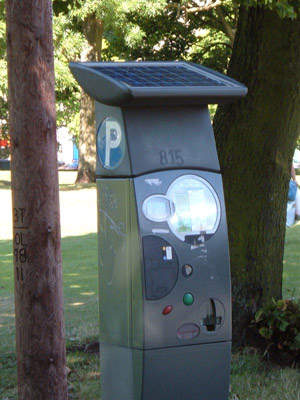 The Stelio: another possible choice for the pay and display machine.