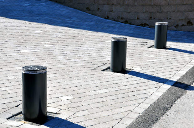 Access controllers for urban bollards