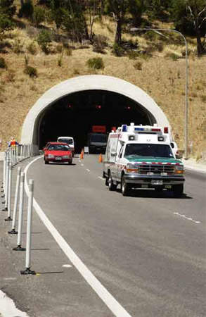 The twin Heysen tunnels were the first of their kind on the M1.