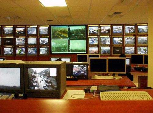 The Athens traffic management system is operated from two control centres fed with data from a variety of sources including close circuit television cameras, traffic signals, Autoscope video-detection cameras, ground loop detectors, speed radar devices and security personnel and traffic police on the ground.