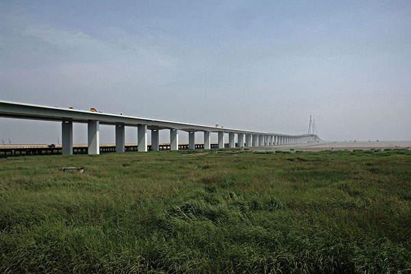 Hangzhou Bay cable-stayed bridge