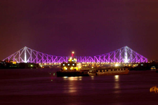 Howrah cantilever bridge