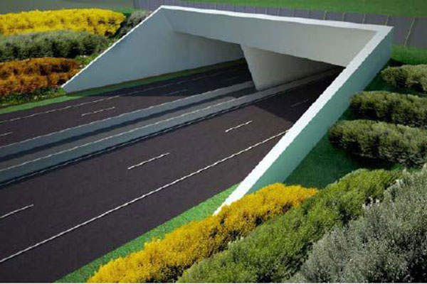A total of 50 cut-and-cover tunnels will be constructed under the project's second construction contract.