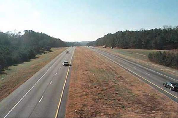 The project is financed by a combination of federal funds, toll-backed revenue bonds and state sources. Credit: Georgia Department of Transportation (GDOT).