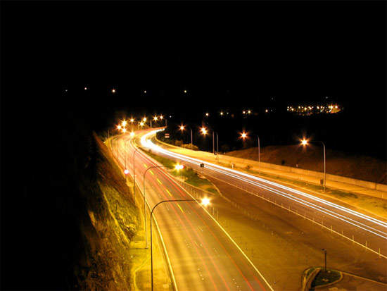 The highway opened in March 2000 and has been a great success in reducing the commuting times of 30,000 vehicles each day.
