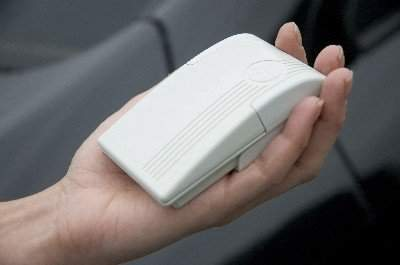 An in-car transponder can provide automatic payments for the congestion charge.