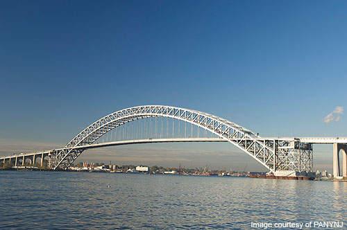 Bayonne Bridge construction was undertaken by the American Bridge Company.