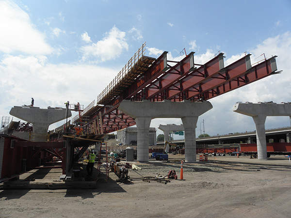 The southbound span of the crossing was expected to be completed in July 2015.