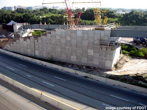 The reconstruction work on the interchange project will include 20 new bridges and the demolition of five old bridges.