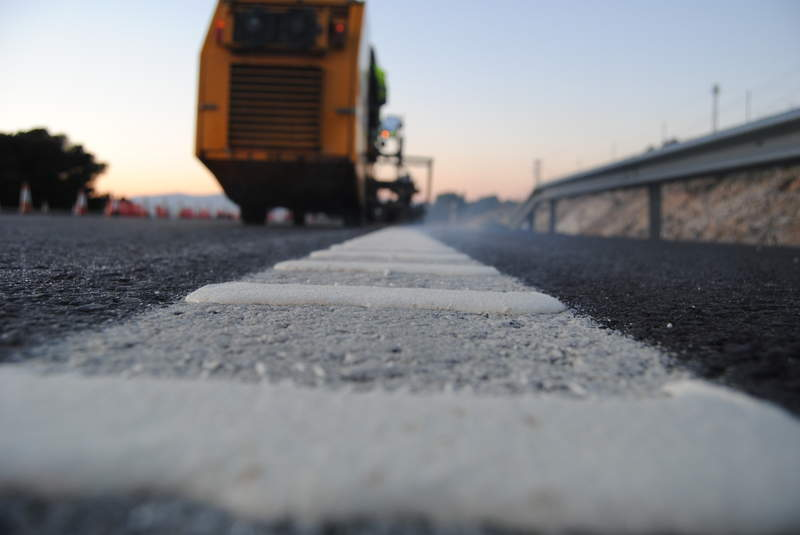 solvent-based roadmarkings
