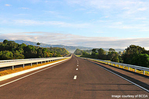 The Clark-Subic stretch of the expressway.