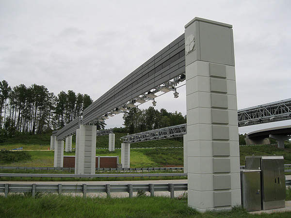 The Triangle Expressway is the most expensive public works project in the history of North Carolina. Image courtesy of N.C. Department of Transportation.