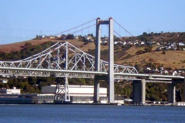 A $4 toll is charged on the eastbound direction of the Carquinez Bridge.
