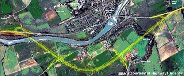 The traffic flow at Haydon Bridge has been causing issues of noise, poor air quality and accidents, but the new bypass will help reduce these.
