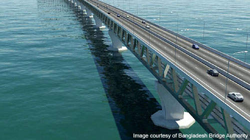 World Bank approved $1.2bn concessional credit for the Padma bridge project.