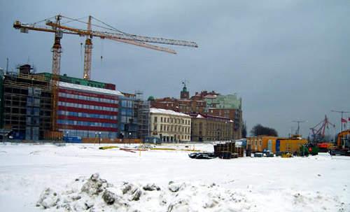 Södra Älvstranden in February 2007.