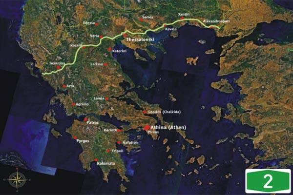 The Egnatia Odos motorway is one of the largest and most ambitious civil engineering projects in Europe.