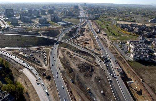 The project comprised several phases including 19 miles of highway expansion.