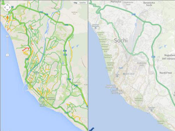Real Time Internet Traffic Map.4 Verdict Traffic