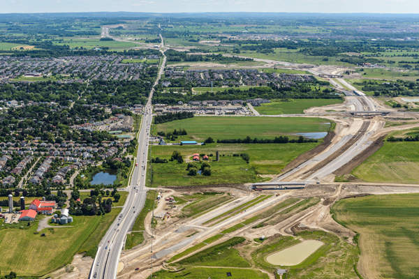 The 407 East project will be completed in two phases of construction. Image: courtesy of 407 EDG.