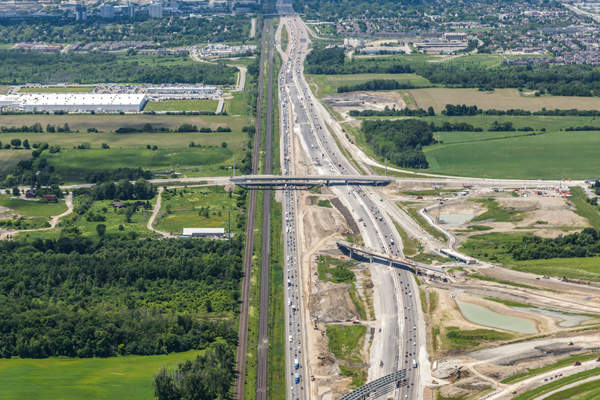 The final environmental assessment decision for the project was announced by the Canadian Environmental Assessment Agency (CEAA) in July 2011. Image: courtesy of 407EDG.